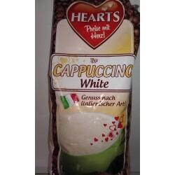 Hearts Cappuchino White