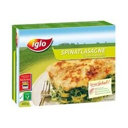 Iglo - Spinatlasagne