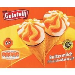 Gelatelli Buttermilch Pfirsich-Maracuja