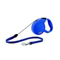 Flexi - Classic 2-5 Leine für Hunde bis 25 kg, blau