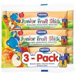 Nestlé - Junior Fruit Stick Banane-Apfel 3-Pack