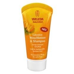 Weleda - Baby & Kind Calendula Waschlotion & Shampoo Mini