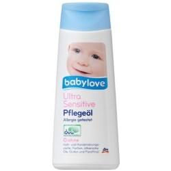 Babylove - Ultra Sensitive Pflegeöl 3er Pack