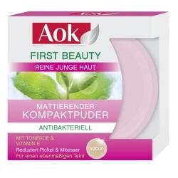 First Beauty Mattierender Kompaktpuder