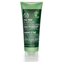 Body Shop - Tea Tree Blackhead Exfoliating Wash