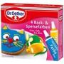 Dr. Oetker - 4 Back- & Speisefarben Grün, Gelb, Rot, Blau