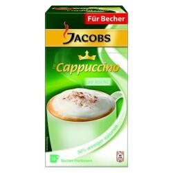 Jacobs Cappuccino so leicht 10er