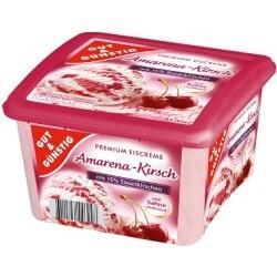 Gut & Günstig - Premium Eiscreme Amarena-Kirsch