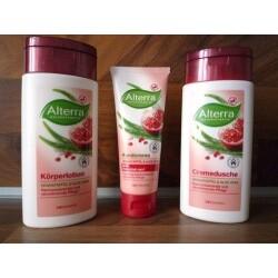 Alterra - Cremedusche Granatapfel & Aloe Vera