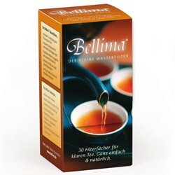 Bellima Wasserfächer für klaren Tee - wirksamer Kalkfänger