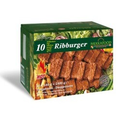 Mekkafood - Ribburger, 1,4 kg