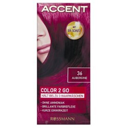 Accent - Color 2 go Nr. 36 Aubergine
