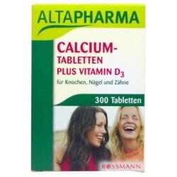 Altapharma - Calcium-Tabletten plus Vitamin D3