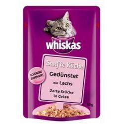 Whiskas Sanfte Küche - Gedünstet mit Lachs