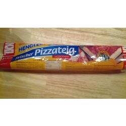 """Frischer Pizzateig """"XXL"""" 550g auf Backpapier"""