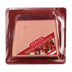 Berger - Preiselbeer Pastete