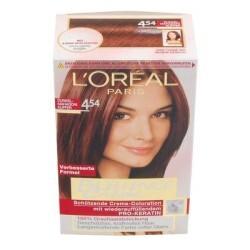 L Oreal Exellence Color-Creme - Dunkelmahagoni-Kupfer 454
