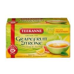 Teekanne Grüner Tee Grapefruit Zitrone, 20 Btl