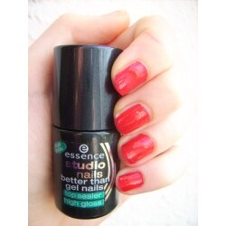 Essence Studio nail better than gel nails Top Sealer high gloss