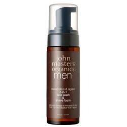 John Masters Organics Men 2-in-1 Face Wash & Shave Foam