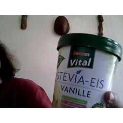 Stevia-Eis Vanille