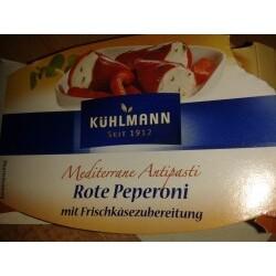 Kühlmann - Rote Peperoni mit Frischkäsezubereitung
