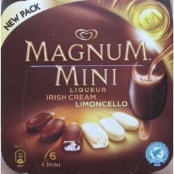 Magnum – Irish Cream & Liqueur Limoncello Mini