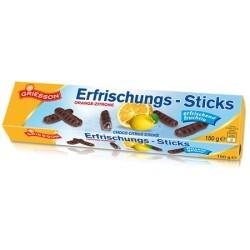 Griesson - Erfrischungs-Sticks Orange-Zitrone