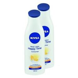 Nivea - Happy Time Body Lotion 2er-Pack