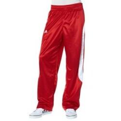 adidas - Performance EU CLUB PANT Basketballhose rot/weiß