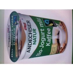 Andechser Natur - Bio-Jogurt mild Kaffee