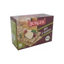 Burger - Knäckebrot Bio 5-Saaten