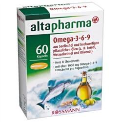 Altapharma - Omega-3-6-9 mit pflanzlichen Ölen & Seefischöl