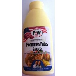 P&W - Pommes Frites Creme - American Style