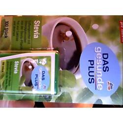Stevia Süßungsmittel dm Das gesunde Plus - 4010355912008 | CODECHECK.INFO