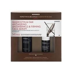 Korres Gesichtspflege Augenpflege Quercetin & Oak SetGeschenkset Serum 30 ml + Augencreme 15 ml 1 Stk.