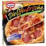 Die Ofenfrische Pizza Salami-Zwiebel