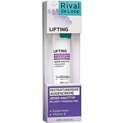 Rival de Loop - Lifting Restrukturierende Augencreme Sojaprotein + Vitamin E