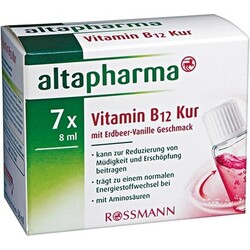 Altapharma - Vitamin B12 Kur mit Erdbeer-Vanille Geschmack