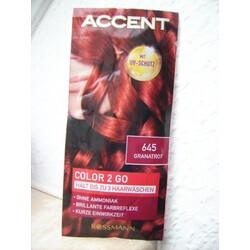 Accent Color 2 Go 645 Granatrot