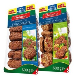 Dulano Delikatess Mini Gemüse Nuggets