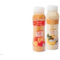 pure fruits saft