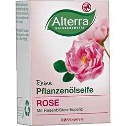 Alterra - Reine Pflanzenölseife Rose (alte Version)