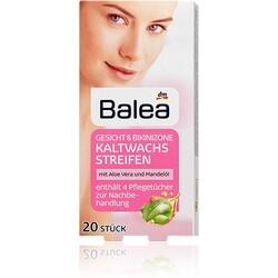 Balea - Kaltwachsstreifen Gesicht und Bikinizone