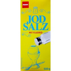 Penny - Jod Salz mit Fluorid