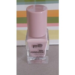 p2 nail foundation + total repair 010 nude
