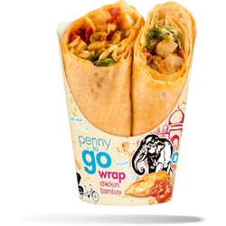 Penny to go - Wrap Chicken Bombay