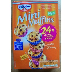 Dr. Oetker Backmischung Mini Muffins