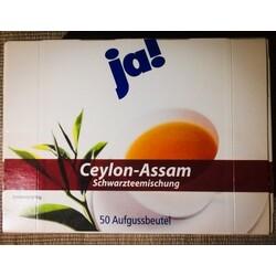 Ja! Ceylon-Assam Schwarzteemischung