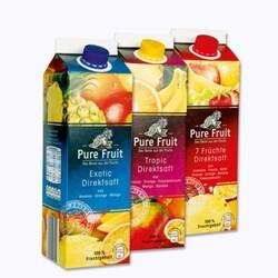 Pure Fruit Direktsaft (verschiedene Sorten)